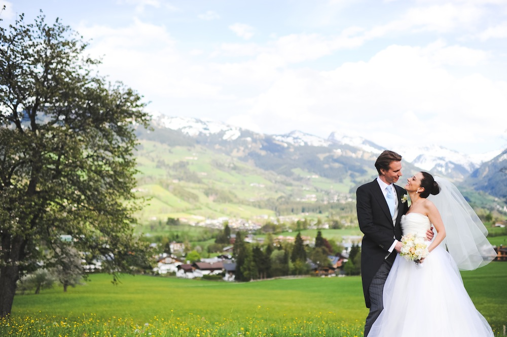 Sabrina & Chris Traumhochzeit in Kitzbühel