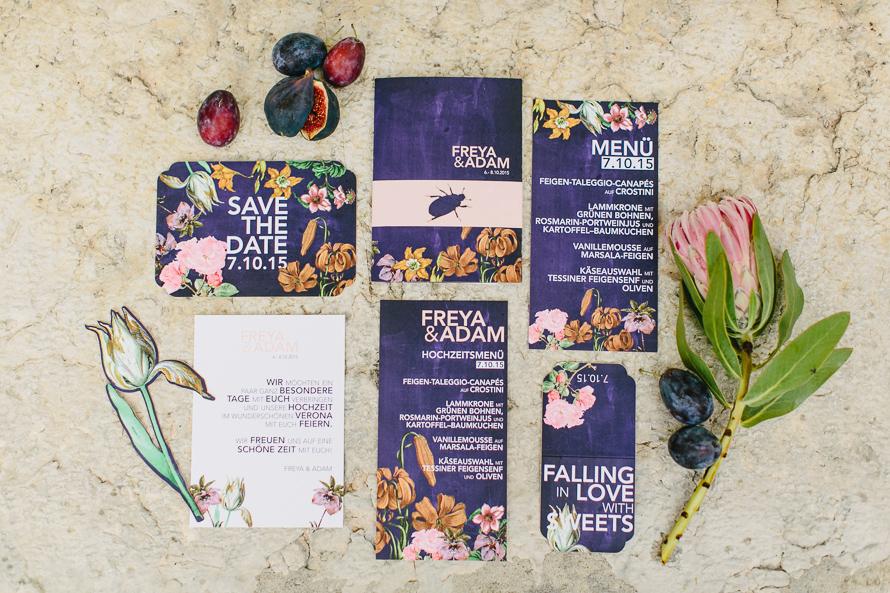 Inspiration – Hochzeitsworkshop #1 in Verona – BOTANICA