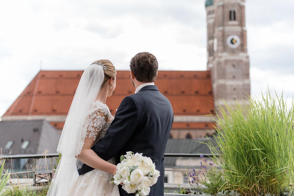 Glamouröse Hochzeit in München