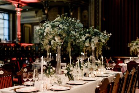 Art Nouveau Hochzeit